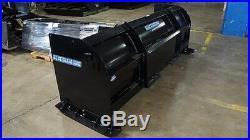 Blue Diamond Heavy-Duty Snow Pusher Skid Steer Attachment, 96 wide