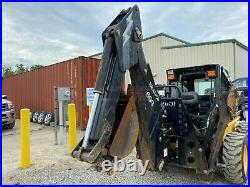 Bradco 609 Backhoe Attachment For Skid Steer Loaders, 12 Bucket, Outriggers