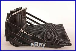 Bradco 75 Skid Steer Rock Bucket 3 Tine Spacing