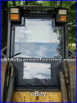 Cab Enclosure Kit & Door New Holland Skid Steer LS160 LS170 LS180 LS185 LS190