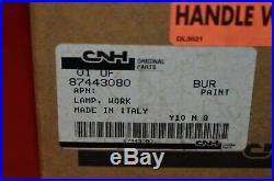 Case New Holland Work Lamp Skid Steer Loader Tractor Light 55w OEM NOS 87443080