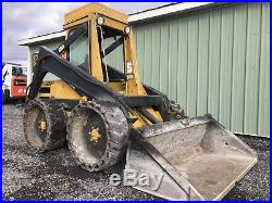 Clean New Holland 555 Skid Steer Loader Kubota Diesel Cheap Shipping Rates