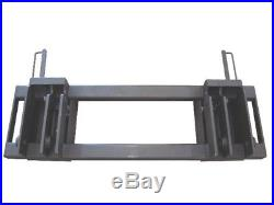 EQuick Hitch Adapter New Holland 785 to Skid Steer Attachment