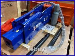 Felix Hydraulic Hammer Breaker Fits 8000 16000 lbs Skid Steer Mini Excavator