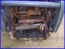 Fire damaged New Holland L170 Skidsteer loader skid steer