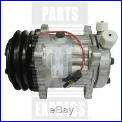 Ford New Holland A/C Compressor Part WN-87026034 on Skid Steer L180 L185 L190
