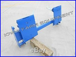 Ford/New Holland Pin-On Loader Skid Steer Q/A Adapter 620TL, 7109,7209,7210,7309