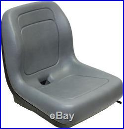 Ford New Holland Skid Steer Seat Gray Fits Ls120, Ls125, Ls140, Ls150, Ls160 #ql