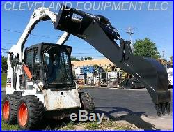 HD BACKHOE ATTACHMENT with 12 BUCKET Excavator Skid Steer Loader New Holland Gehl