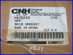IH Case CNH New Holland OEM NOS Drive Sprocket Part # H435243 1840 Skid Steer