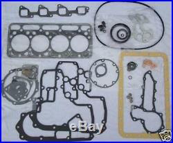Kubota V1902 Motor Full Gasket Set for New Holland L553 L555 Skidsteer