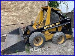 L35 Holland Skid Steer