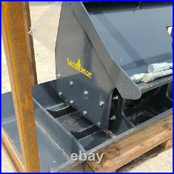 Land Honor Skid Steer Tamper Compactor 72 Plate Soil Sand Gravel CAT Kubota