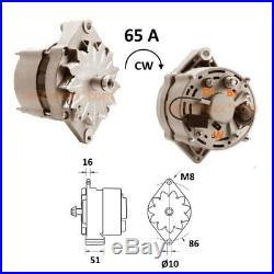 Lichtmaschine CASE John Deere Daewoo New Holland. 0120489475 0120488125 AAK3330