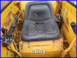 Military Surplus Low hour Diesel SKID STEER with Meyer snow plow ENCLOSED CAB