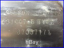 Muffler MIGHT fit 430 445 Case skid steer, NEW, OEM 87040452 87037171