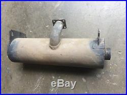 Muffler fits L180 LS180. B New Holland skid steer, OEM 87368544 87045199