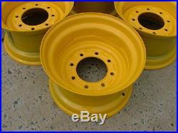 NEW 16.5X9.75X8 Skid Steer Wheel/Rim for CAT 236, 242, 246, 248, 252, 262 & 272