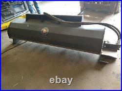 NEW 2020 Skid Steer Loader Hydraulic Tiller 72 6 feet Rototiller Wolverine