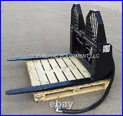 NEW 48 HYDRAULIC PALLET FORKS & FRAME ATTACHMENT Skid Steer Loader Caterpillar