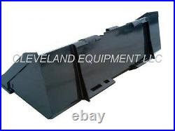 NEW 60 LOW PROFILE CONSTRUCTION BUCKET for Bobcat Skid Steer Loader Attachment