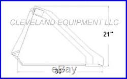 NEW 60 TOOTH BUCKET Skid Steer Loader Attachment Teeth Mustang Holland Gehl JCB