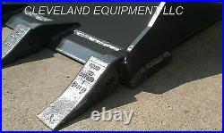 NEW 66 TOOTH BUCKET Low Profile Skid Steer Loader Attachment Teeth Mustang Case