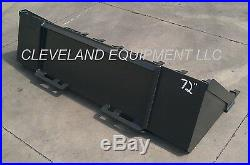 NEW 84 TOOTH BUCKET Low Profile Skid Steer Loader Attachment Teeth Holland Gehl