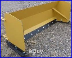 NEW 96 SKID STEER/TRACTOR LOADER SNOW BOX PUSHER PLOW BLADE bobcat, holland 8
