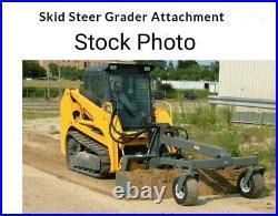 NEW 96 Skid Steer Grader Skid steer Attachments Skidsteer Grader Box blade