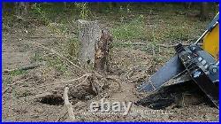 NEW BLUE DIAMOND SEVERE DUTY STUMP BUCKET Skid Steer Track Loader Attachment