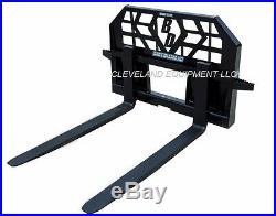 NEW HD 5000# PALLET FORKS & FRAME ATTACHMENT Skid-Steer Track Loader Holland Cat