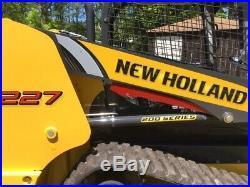 NEW HOLLAND C227 skid Steer Loader
