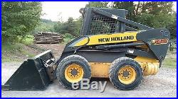 New Holland L185 Skid Steer Very Low Hours 2 Speed Ready 2 Work In Pa! We Ship