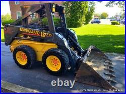 NEW HOLLAND LS170 Skid Steer Loader 52HP DIESEL JUST FULLY SERVICED Turbo NICE