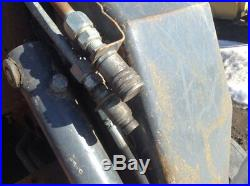 NEW HOLLAND LT185 Skid Steer Auxiliary Hydraulic Couplers, 2 Fittings