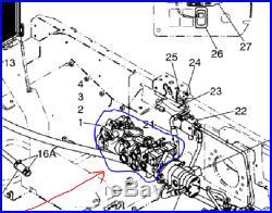 NEW HOLLAND LT185 Skid Steer Tandem Hydraulic Pump, OEM# 87043497