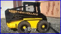 NEW HOLLAND LX885 TURBO Skid Steer With Bucket NICE
