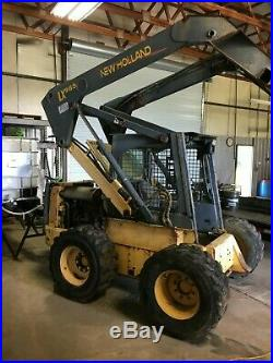 NEW HOLLAND SKID STEER LOADER LS190 LX985 For parts or repair