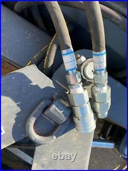NEW JCT 72 Snow Dirt Plow 6 Way Skidsteer Hydraulic Dozer Blade fits Bobcat CAT