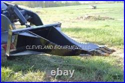 NEW MINI XL STUMP BUCKET ATTACHMENT Toro Dingo Vermeer Skid Steer Track Loader