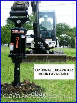 NEW PREMIER MD18 HYDRAULIC AUGER DRIVE ATTACHMENT Kubota Case Skid Steer Loader