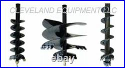 NEW PREMIER MD18 SKID STEER AUGER DRIVE ATTACHMENT with CONCRETE CEMENT MIXER BOWL