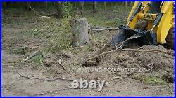 NEW SEVERE-DUTY 62 XL STUMP BUCKET ATTACHMENT Bobcat Skid Steer Track Loader