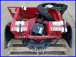 NEW SHAVER SC-30 STUMP GRINDER ATTACHMENT 16-30 GPM Bobcat Cat Skid Steer Loader