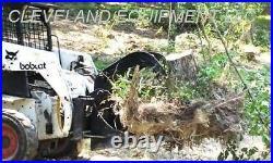 NEW STUMP GRAPPLE BUCKET ATTACHMENT Skid Steer Loader Mustang Thomas Terex Volvo