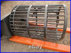 NEW Skid Steer Hydraulic Rotary Rock Picker Soil Screen Attachment
