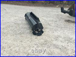 NEW SkidSteer 72 Roto Tiller Hydraulic Rotary Powered Dirt & Soil Conditioner