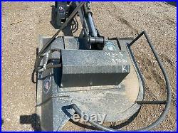 NEW Skidsteer Articulating Brush Hog Cutter Hydraulic Attachment for CAT Bobcat