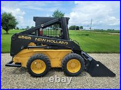 NICE New Holland LX565 Skid Steer Loader FINANCING + SHIPPING AVAILABLE